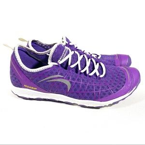 Mountain Warehouse Speed Womens IsoGrip Barefoot Running Shoes in purple Size 7
